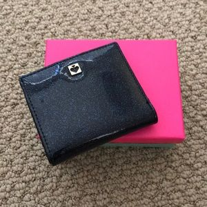 Kate Spade ♠️ glitter bug small wallet